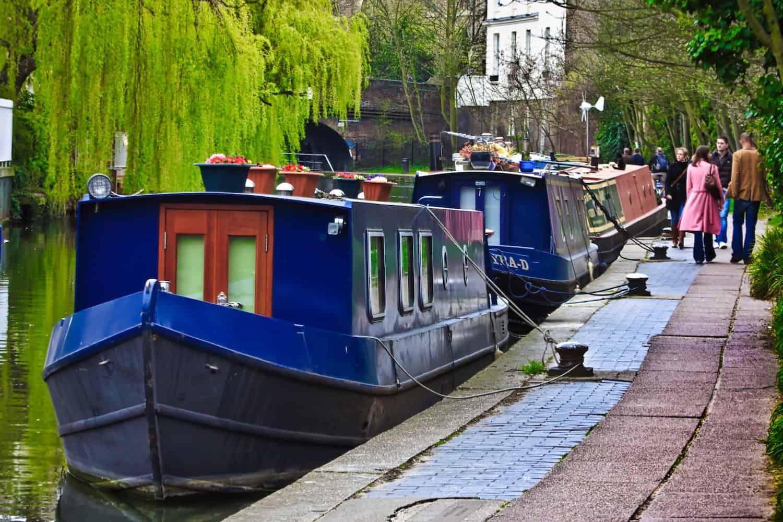 London Houseboats on Airbnb Hero