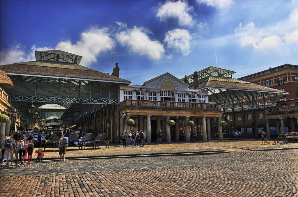 London Itineraries - Covent Garden