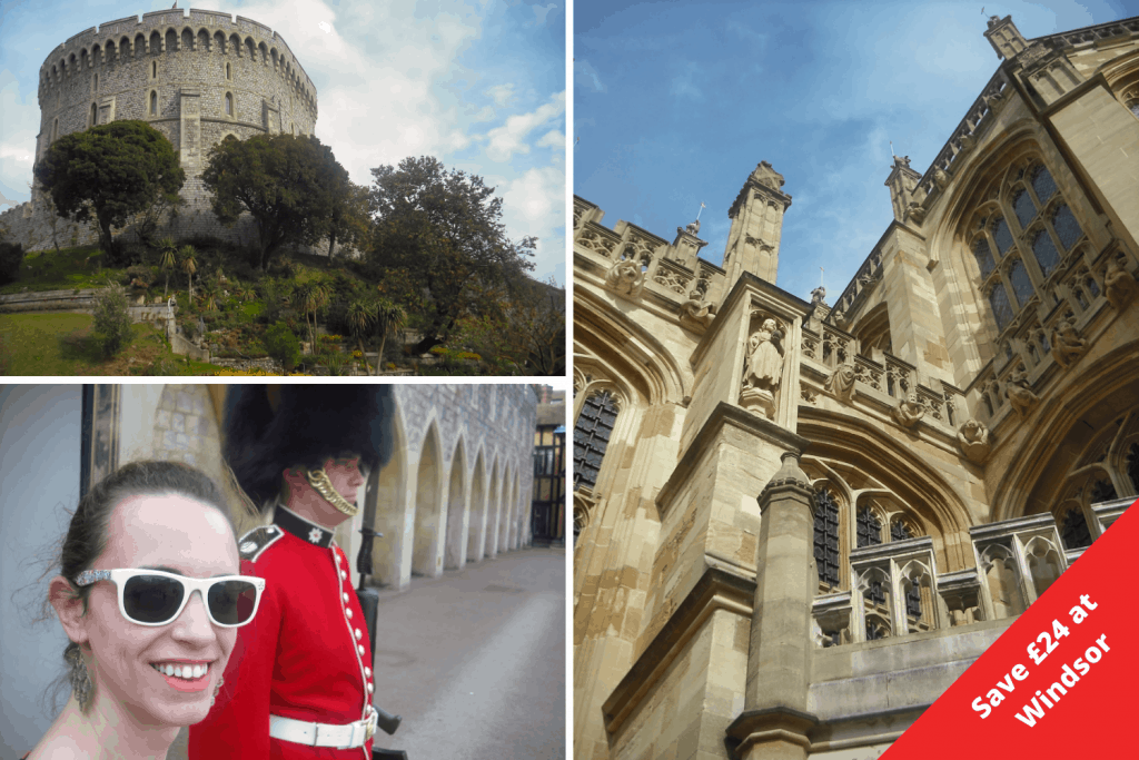 London Pass Savings Grid - Windsor Castle