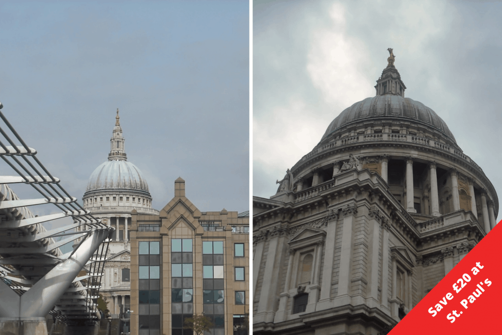 London Pass Savings Grid - St. Paul's Cathedral