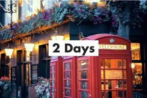 London Itinerary Card - Day 2
