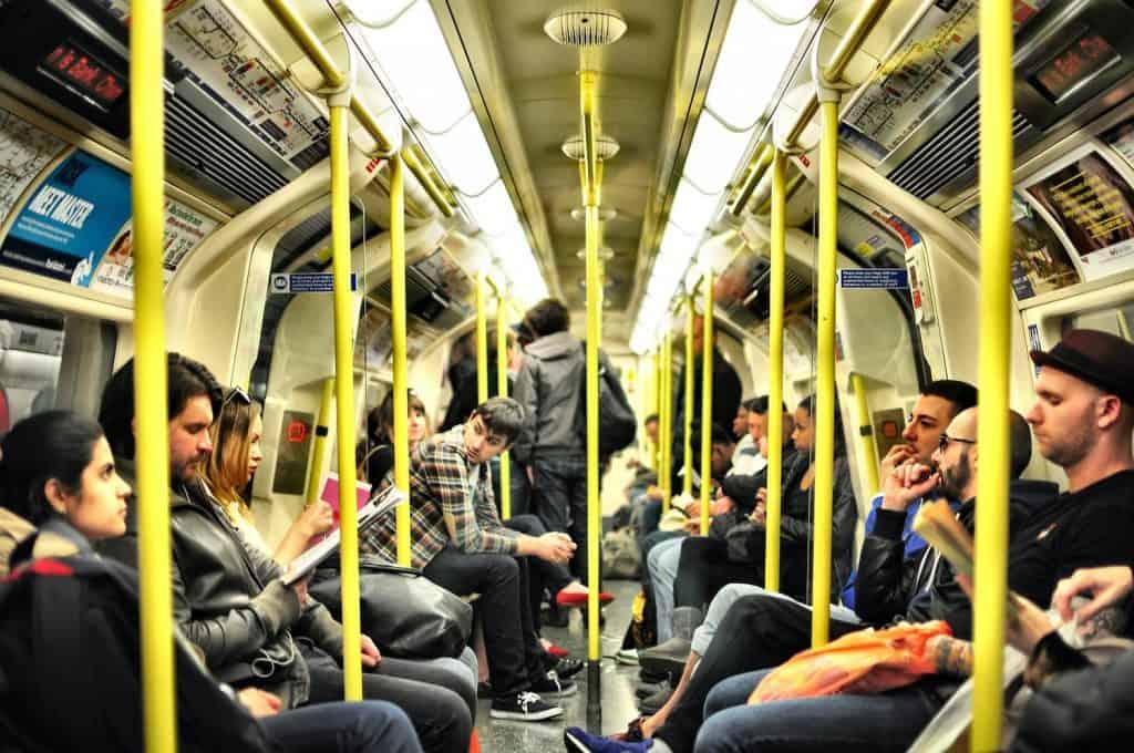 London Underground - Full Carriage