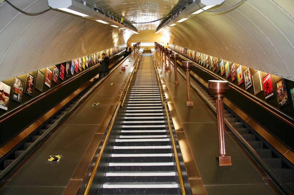 London Underground - Station Entrance
