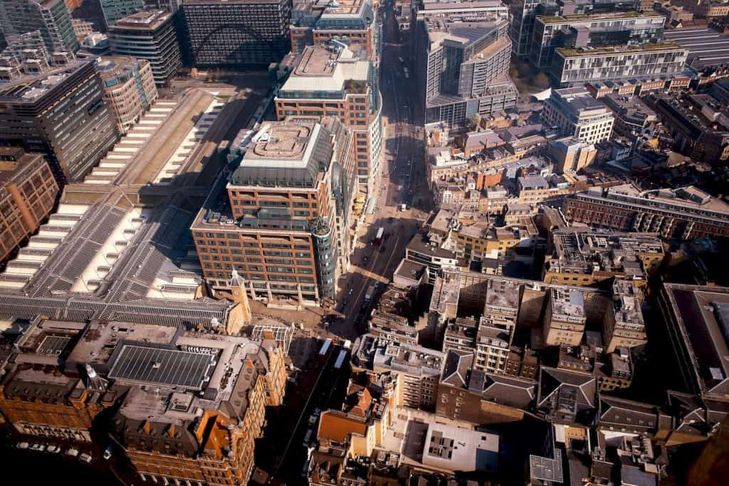 Best London Viewpoints - View from Duck & Waffle