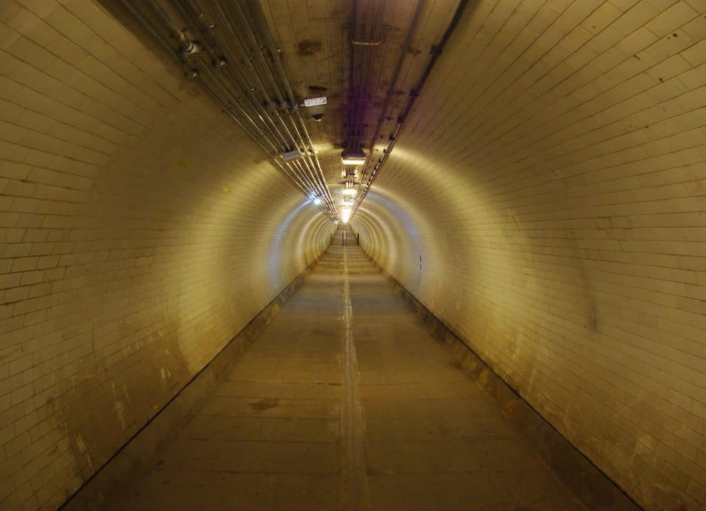 Greenwich Day Trip - Foot Tunnel