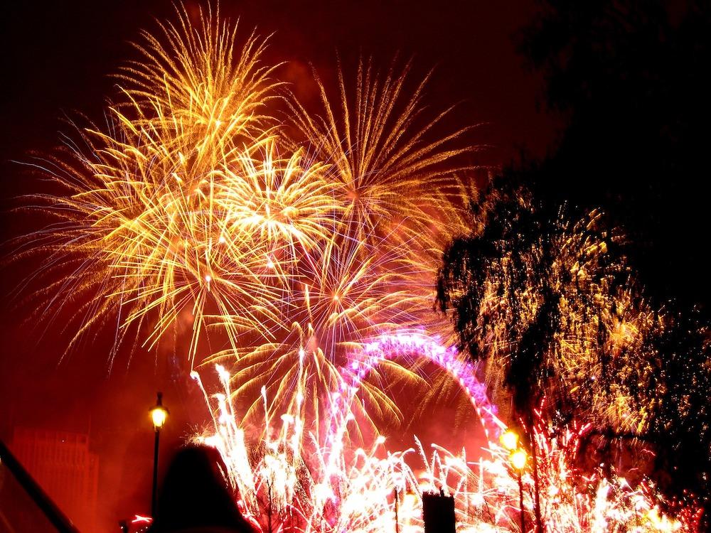 Bonfire Night in London