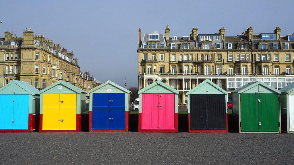 Brighton Day Trip - Hove Beach Huts