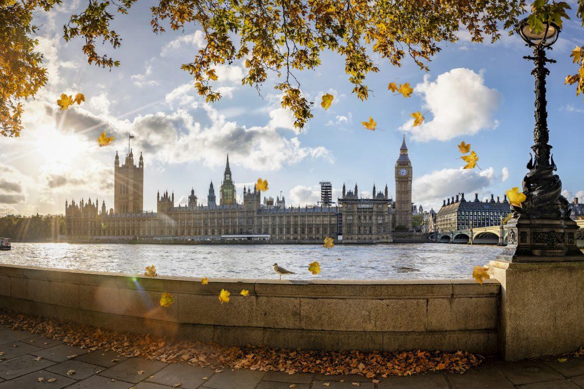 London in the Fall Hero