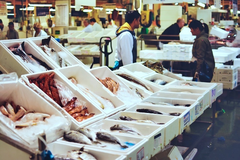 London Markets - Billingsgate Fish Market