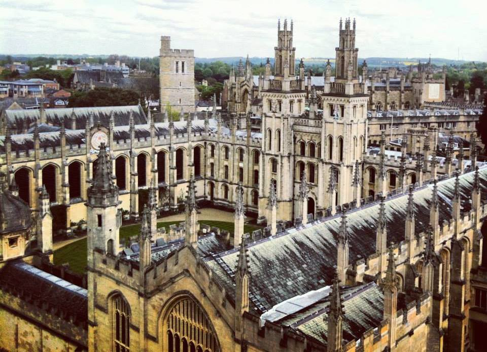 View of Oxford University Buildings