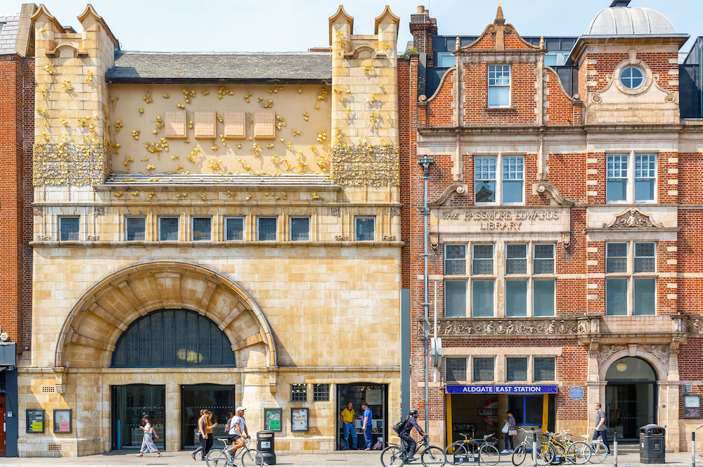 Where to Stay in East London - Whitechapel Buildings