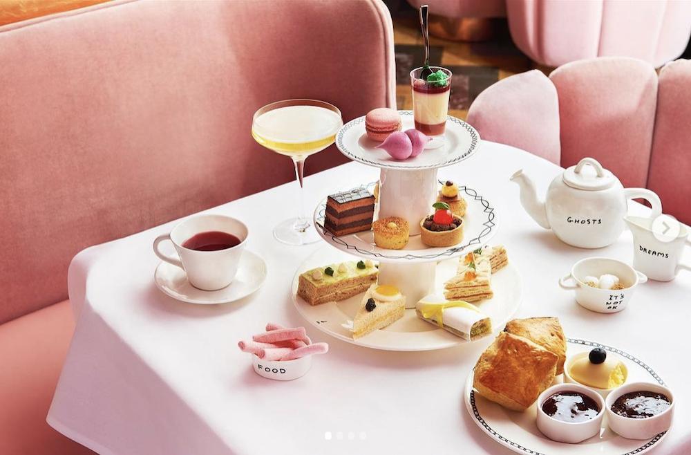 Afternoon Teas in London - sketch
