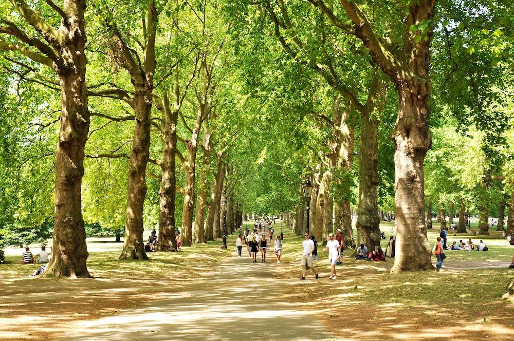 Best Parks in London - Green Park