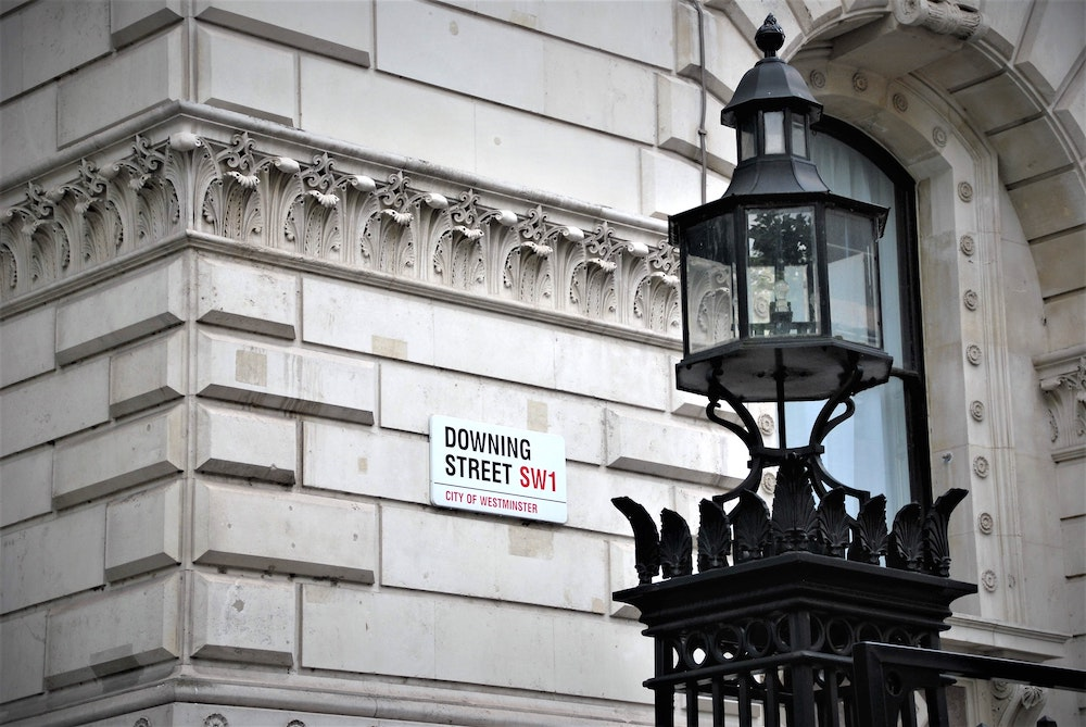 Famous Streets in London - Downing Street