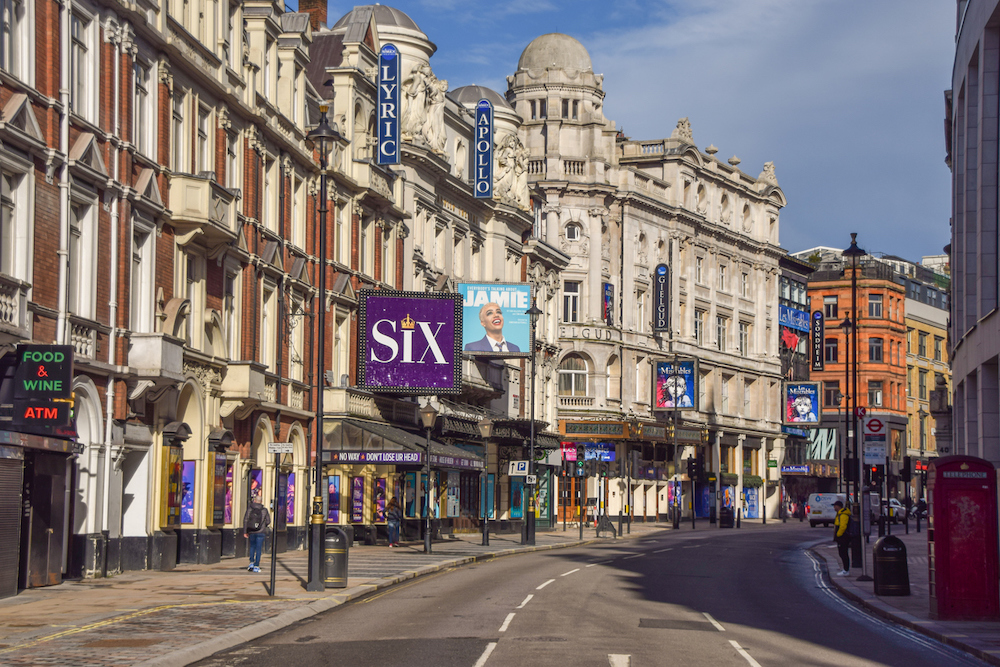 Famous Streets in London - Shaftsbury Avenue
