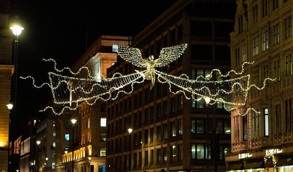 Christmas Lights in London - Bond Street