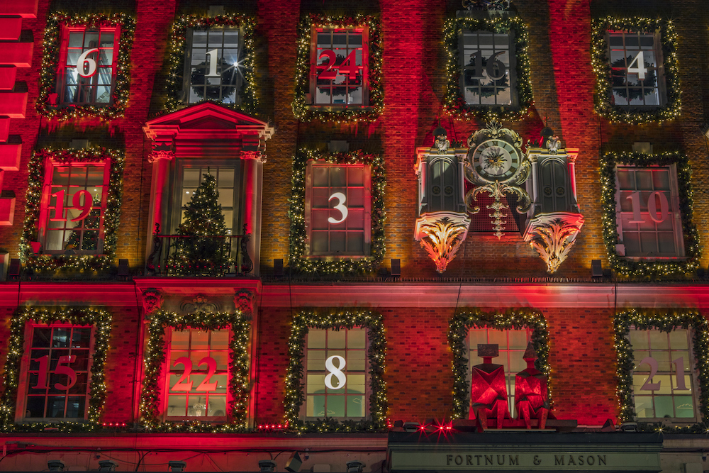 Christmas Lights in London - Fortnum & Mason