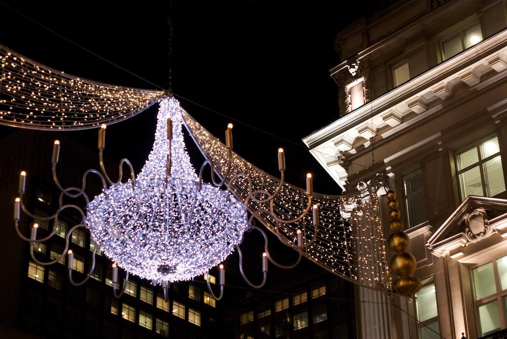 Christmas Lights in London - Oxford Street - Paul Hudson via Flickr
