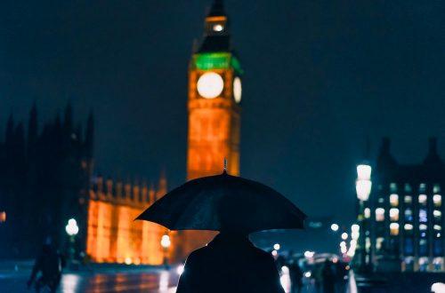 London on a Rainy Day Hero